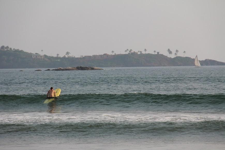 Серфинг на  океане 1