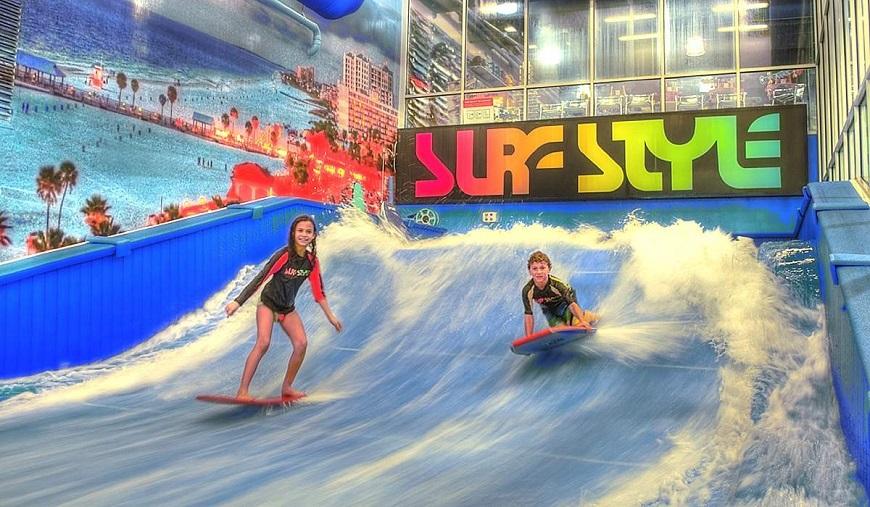 дети серфинг