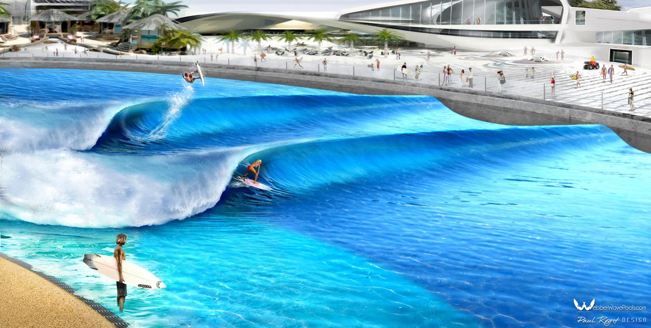 surf park artiffical wave