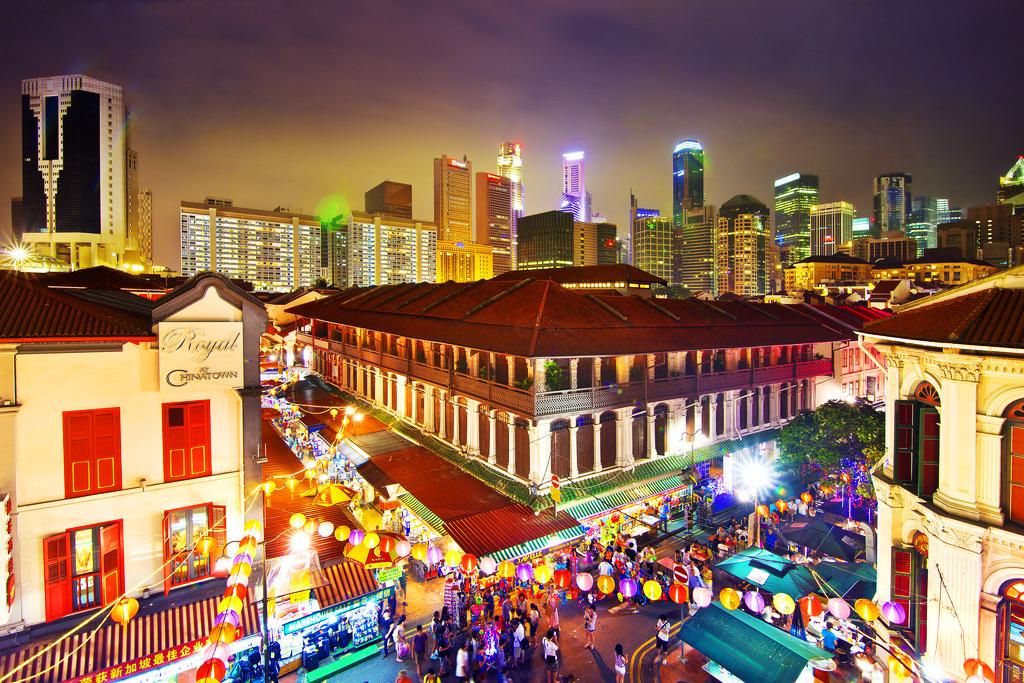 Singapore-chinatown-Mid-Autumn-festival-market